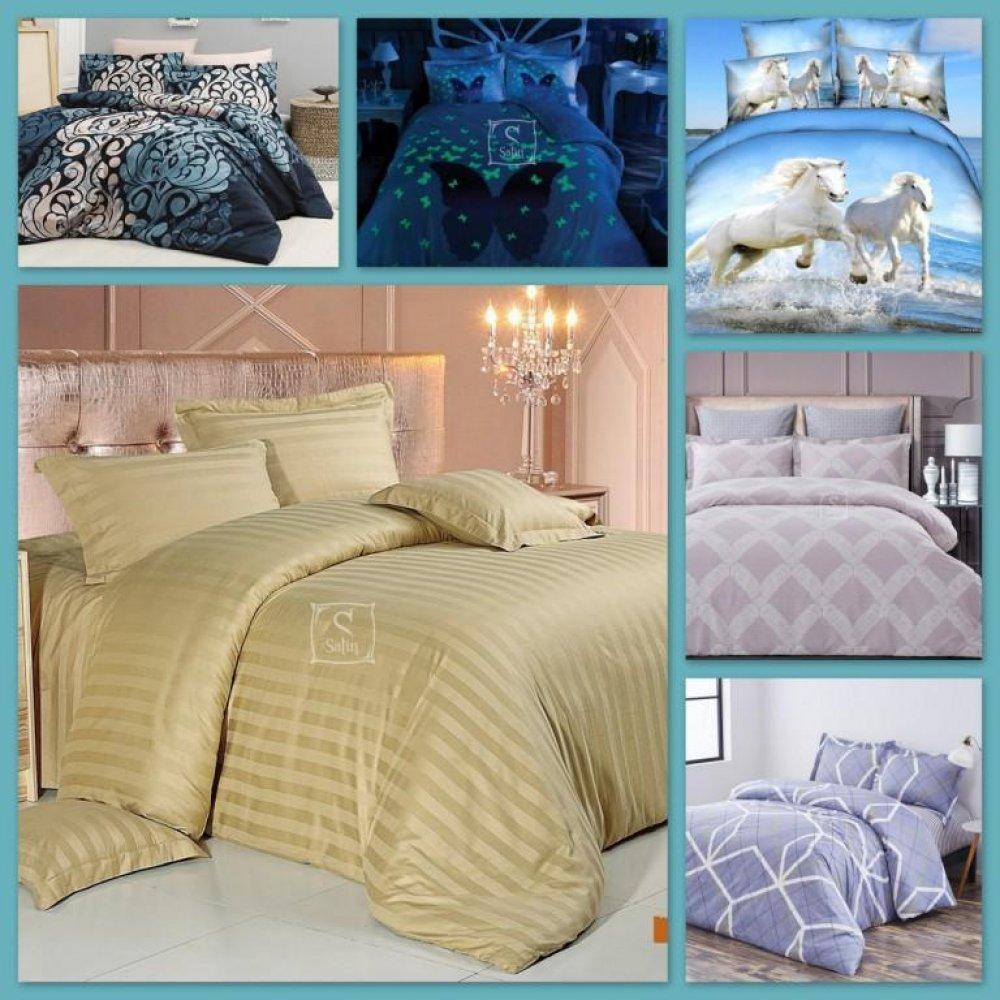 Что такое сатин  Какие виды сатинового постельного белья есть  589cf90545603