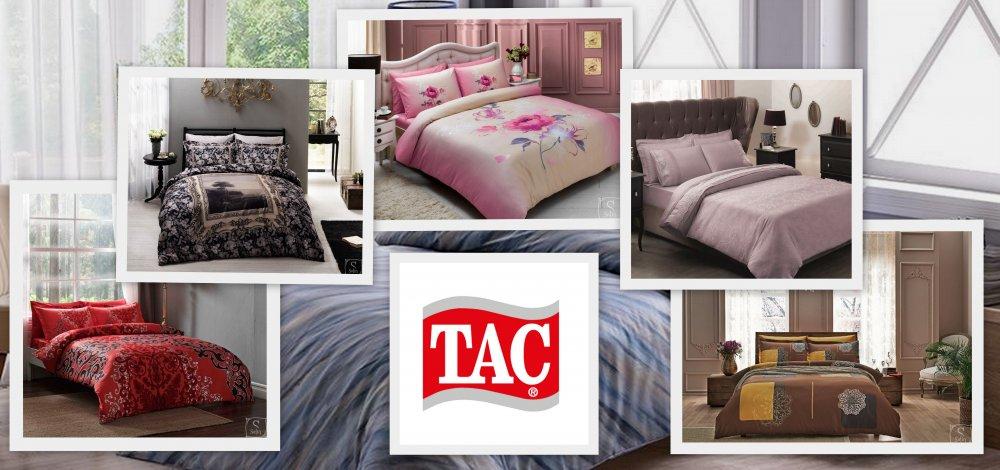 Ткани постельного белья TAC: виды, особенности, характеристики