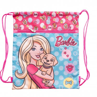 Сумка для обуви 1 Вересня. SB-01 Barbie mint, 40*35 см