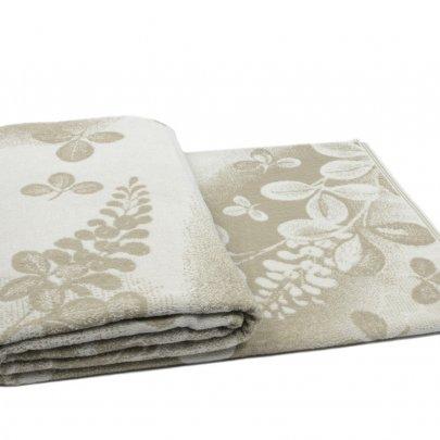 Махровая простынь Речицкий текстиль. Relaxing, хлопок/лен