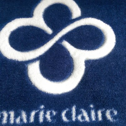 Коврик для ванной Marie Claire. Sally, темно-синего цвета, 66х107 см