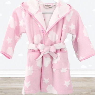 Халат махровый Irya. Cloud розового цвета