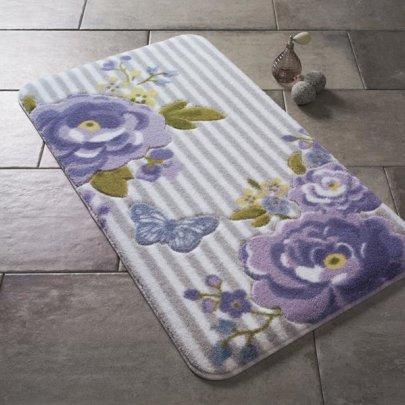 Коврик для ванной Confetti. Confetti Roses Purple