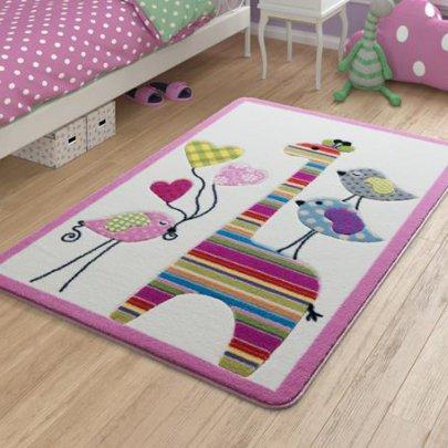 Детский коврик Confetti. Giraffe Pink