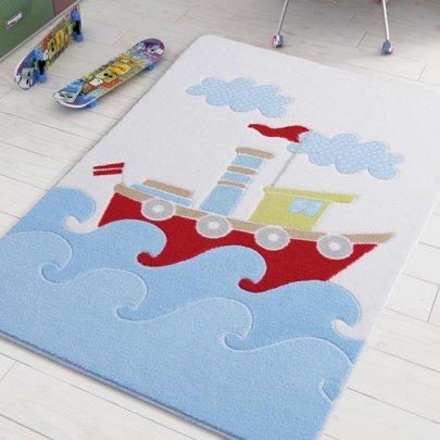 Детский коврик Confetti. Baby Ship Blue
