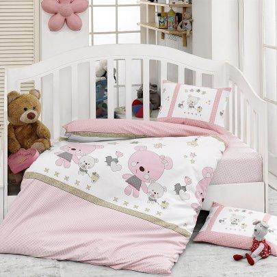 Постельное белье в детскую кроватку Class. Lola v1