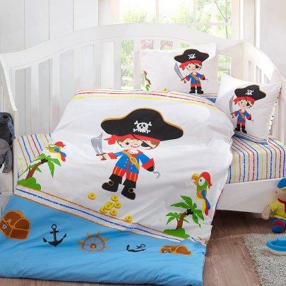 Постельное белье в детcкую кроватку Class. Pirat v1