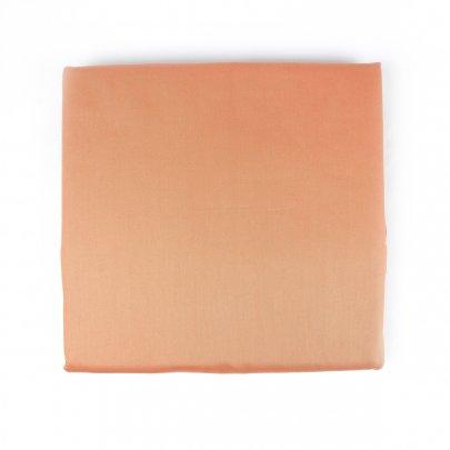 Простынь Arya. Сатин Camino персикового цвета