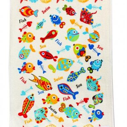 Полотенце кухонное IzziHome. Рибки