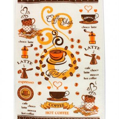 Полотенце кухонное IzziHome. Гаряча Кава