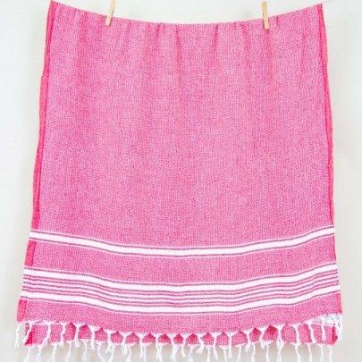 Пляжное полотенце Barine. Pestemal Recycle Red красное