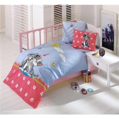 Набор в детскую кроватку Kristal. Pati, голубой