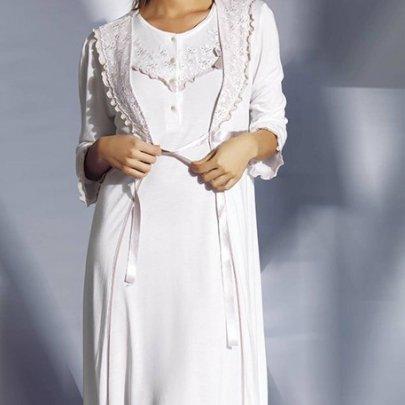 Комплект халат+рубашка Mariposa.  Модель 4403