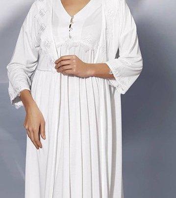 Комплект халат+рубашка Mariposa.  Модель 4416