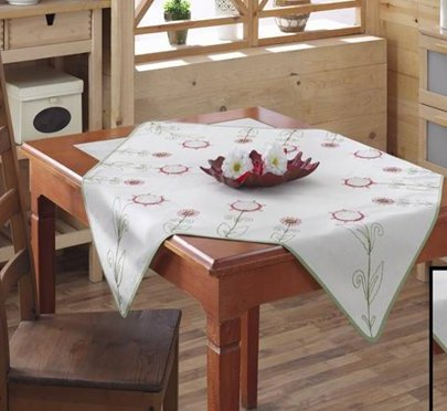 Скатерть Home Line. BK046 с вышивкой