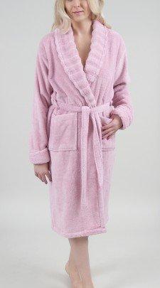 Женский махровый халат Irya. Frizz Pembe