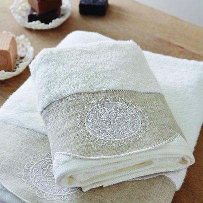 Набор махровых полотенец Karaca Home. Zac, 2 предмета