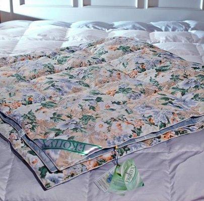 Детское одеяло Экопух. полупуховое (50% пуха/50% пера)