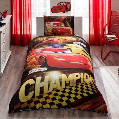 Детское постельное белье TAC.  Disney Cars Champion