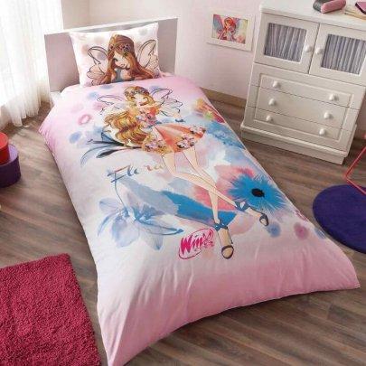 Детское постельное белье TAC. Winx Flora