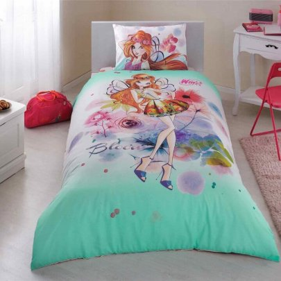 Детское постельное белье TAC. Winx Bloom