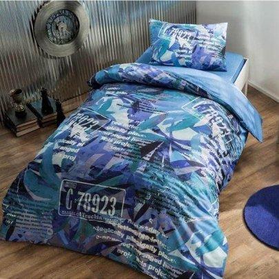 Подростковое постельное белье TAC. Ranforce Graffiti Paint (простынь на резинке)