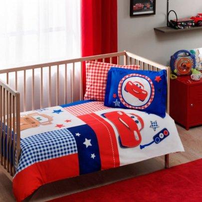 Постельное белье в детскую кроватку TAC. Cars Baby Patchwork