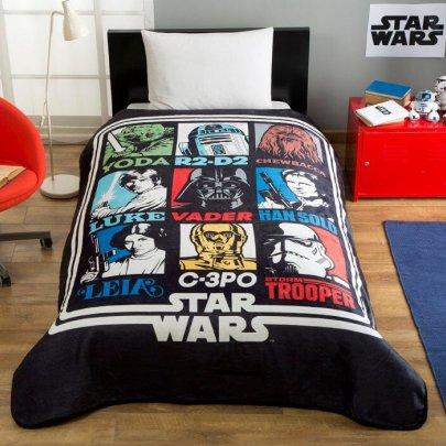 Детский плед TAC. Disney Star Wars Force