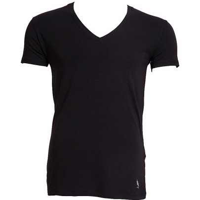 Мужская футболка U.S. Polo Assn. Модель 80081, черного цвета