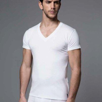 Мужская футболка U.S. Polo Assn. Модель 80086, белого цвета