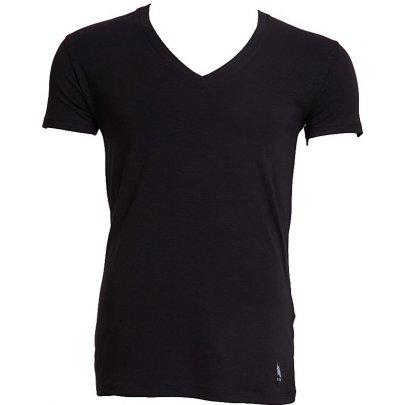 Мужская футболка U.S. Polo Assn. Модель 80086, черного цвета