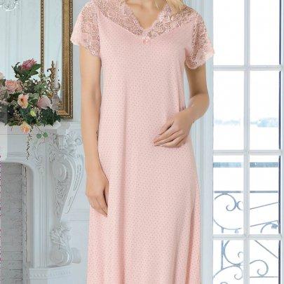 Ночная сорочка Mariposa. Модель 8102 SALMON