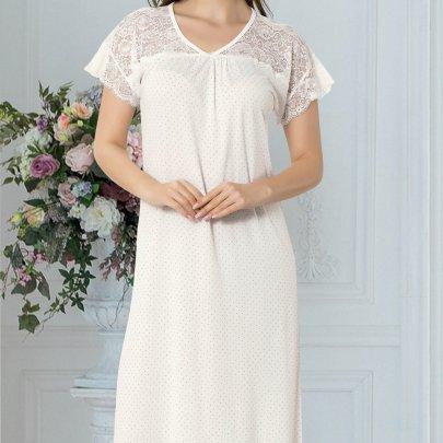Ночная сорочка Mariposa. Модель 8103 EKRU