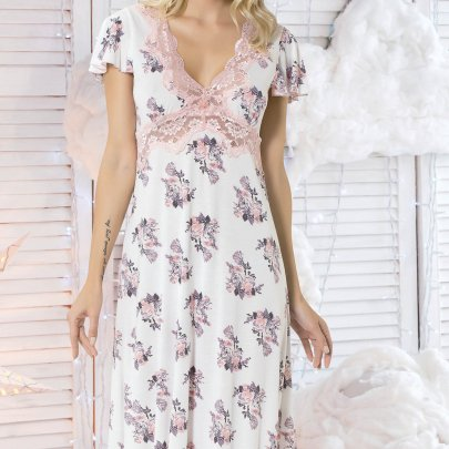 Ночная сорочка Mariposa. Модель 8108 SALMON