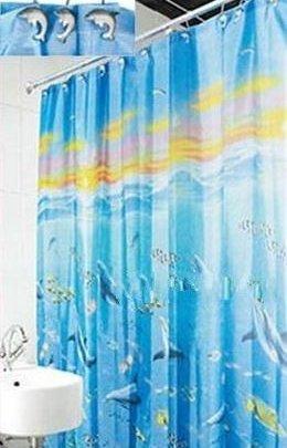 Шторка для ванной Arya. Water Life