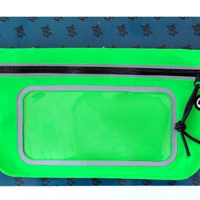 Сумка на пояс 1 Вересня, зеленая, 23*11,5 см