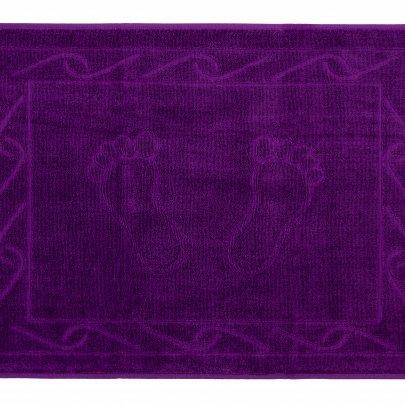 Махровое полотенце для ног Hobby. Hayal фиолетового цвета