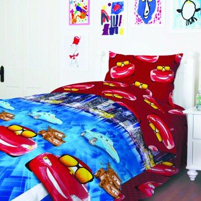 Детское постельное белье ТЕП. Тачки 949