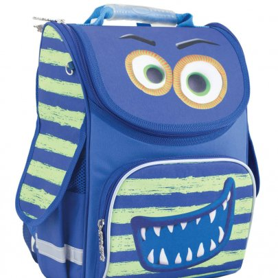 Рюкзак школьный каркасный Smart. PG-11 Monster