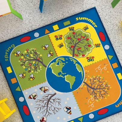 Детский коврик Confetti. Four Seasons Mavi, размер 133х133 см