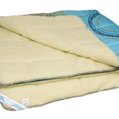 Одеяло зимнее Leleka-Textile. Хутро двухстороннее