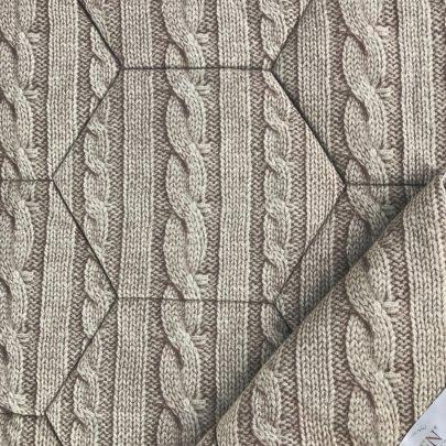 Одеяло детское Iglen лен демисезонное  во фланели