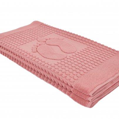 Полотенце-коврик для ног Arya. Winter Soft Сухая Роза, 50х70 см