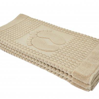 Полотенце-коврик для ног Arya. Winter Soft Бежевый, 50х70 см