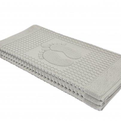 Полотенце-коврик для ног Arya. Winter Soft Серый, 50х70 см