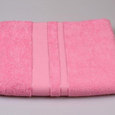 Простынь махровая Аиша розовая