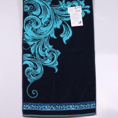 Махровое полотенце Речицкий текстиль. ВЕНЗЕЛЬ синий