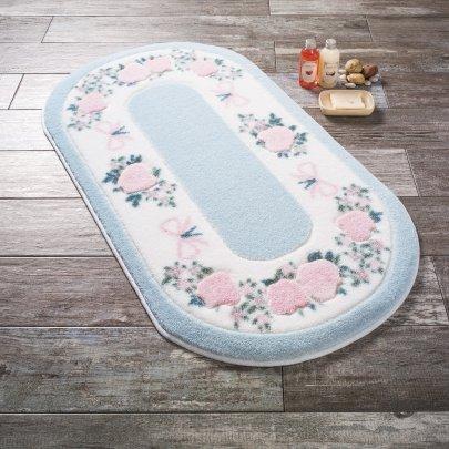 Коврик для ванной Confetti. Rose Frame Mavi