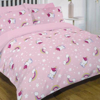 Постельное белье в детскую кроватку  Viluta. 17167 розового цвета