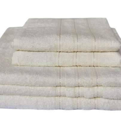 Бамбуковое махровое полотенце Arya. Alice кремовый